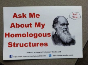 Ask me about my homologous structures